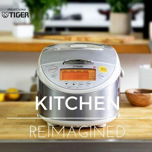 Tiger Corporation JKT-B10U C 感应加热保温电饭煲  315.98加元,原价 369.99加元,包邮