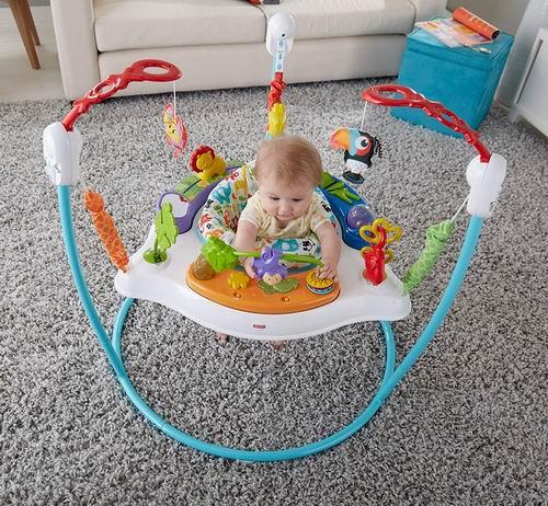 历史最低价!Fisher-Price Animal婴幼儿跳跳乐/弹跳椅 59.9加元,原价 109.98加元,包邮