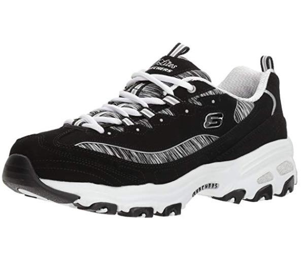 Skechers D'Lites女士熊猫鞋 35.19加元(6.5码),原价 84.5加元,包邮