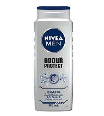 NIVEA Odour Protect 男士沐浴露 500毫升 2.83加元,原价 4.28加元