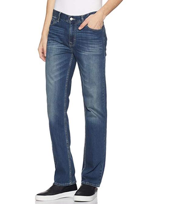 Calvin Klein 男士直筒牛仔裤 25.4加元(38W×30L),原价 61.02加元