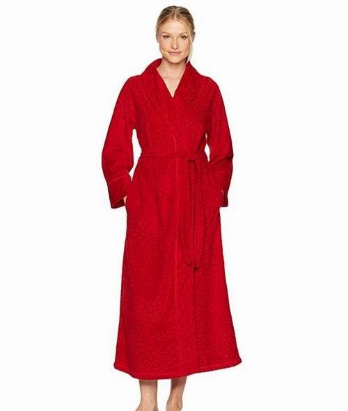 Natori Velvet 女士浴袍 29.69加元(S码),原价 93.57加元