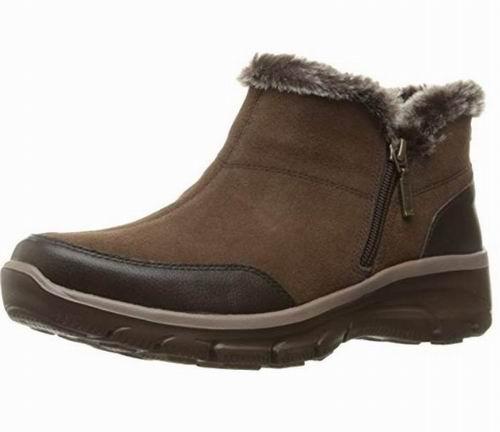 Skechers Easy Going女士短靴 39.05加元(8.5码),原价 97.5加元,包邮