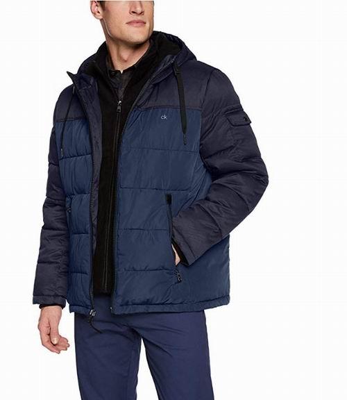 Calvin Klein 男士仿羽绒服 53.53加元(M码),原价 119.66加元,包邮