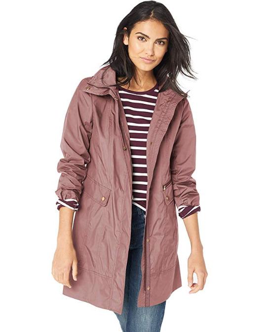 Cole Haan Packable女士雨衣夹克 46.67加元起,原价 113.34加元,包邮