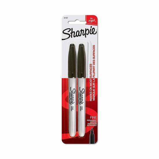 历史新低!Sharpie 永久记号马克笔2件套 0.97加元!
