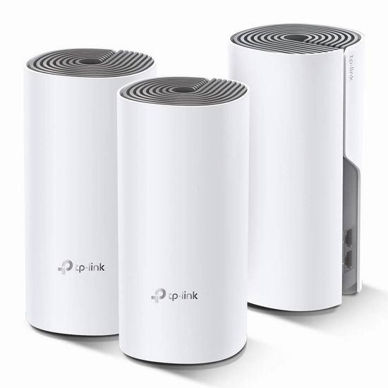 金盒头条:历史新低!TP-Link Deco M4 AC1200 Mesh 家庭Wi-Fi网络覆盖系统3件套 159.99加元包邮!