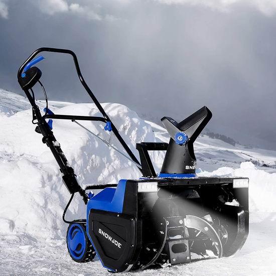 近史低价!Snow Joe SJ627E 15安培22英寸电动铲雪机5.3折 248加元包邮!