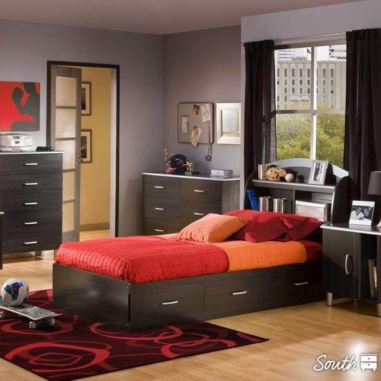 South Shore 书桌、床架、书柜、衣柜、储物柜、桌椅等各种家具全场8.5折+额外8.5折!内附单品推荐!