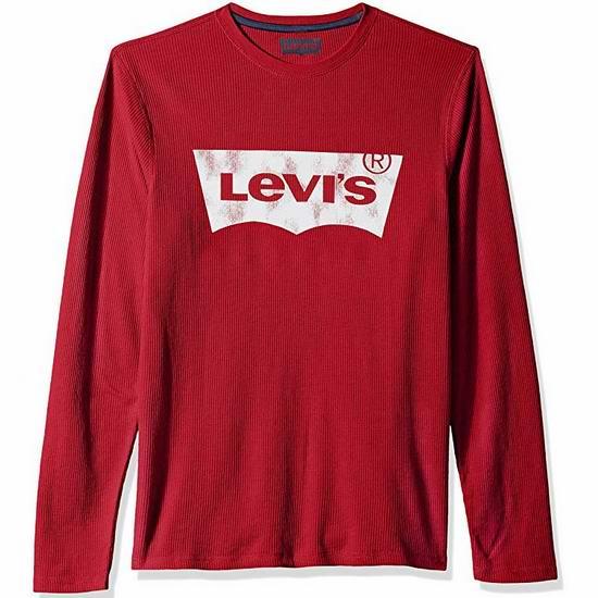 Levi's 李维斯 Covington2 Logo 纯棉长袖T恤 12.48加元起!15色可选!