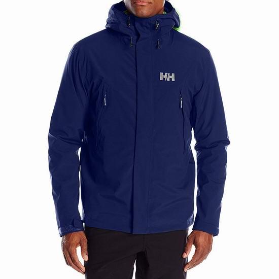 白菜价!历史新低!Helly Hansen Approach CIS 三合一男式滑雪夹克(XL码)2折 69.59加元包邮!