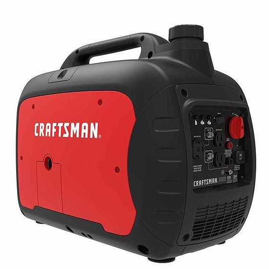 金盒头条:历史新低!Craftsman C0010030 2000瓦/3000瓦 便携式发电机5.9折 532.86-778.34加元包邮!