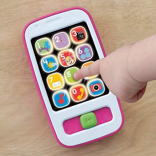 历史新低!Fisher-Price 费雪 Laugh & Learn 早教智能手机玩具3折 7.28加元!