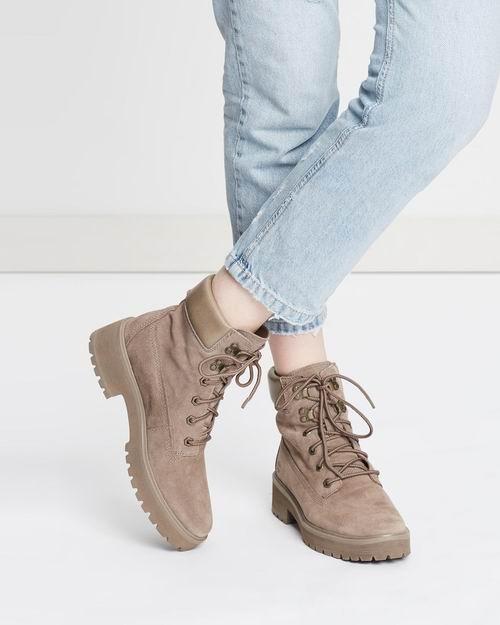 Timberland Carnaby Cool 6女士超帅短靴 126.12加元(7码),原价 200加元,包邮