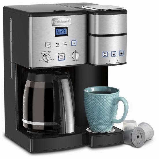 黑五价!历史新低!Cuisinart 美康雅 SS-15C 二合一可编程咖啡机6折 179.97加元包邮!