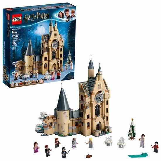 历史新低!新品 LEGO 乐高 75948 霍格沃茨钟楼(922pcs)7.9折 94.99加元包邮!