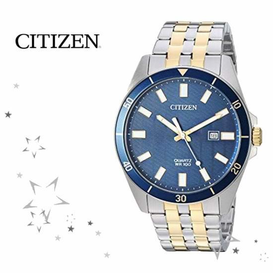 历史新低!Citizen 西铁城 BI5054-53L 男式时尚腕表/手表 138.99加元包邮!