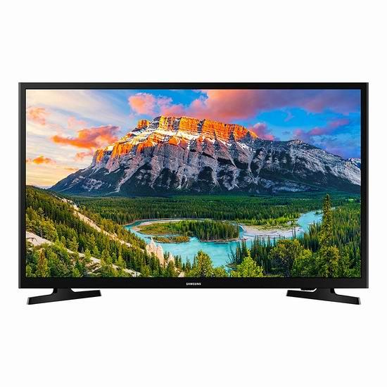 历史新低!Samsung 三星 UN32N5300AFXZC 32英寸 1080P 智能电视 277.99加元包邮!