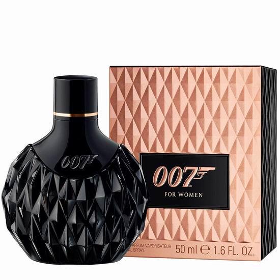 历史新低!James Bond 詹姆斯-邦德 007邦女郎 女士淡香水(50ml)4.1折 12.21加元!