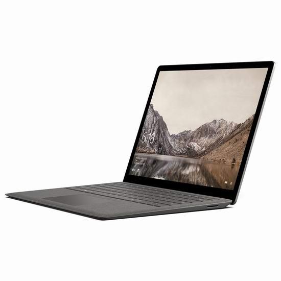 历史新低!Microsoft 微软 Surface Book 13.5寸终极笔记本电脑(Core i5/8GB/256GB)6.7折 1098加元包邮!