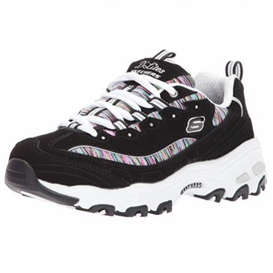 Skechers D'Lites 女士熊猫鞋 49.99加元包邮!码齐全降!