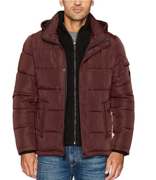 Calvin Klein 男士防寒服 75.77加元(M),原价 116.99加元,包邮
