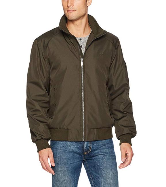 Calvin Klein Rip Stop 男士夹克 32.74加元(S码),原价 87.48加元