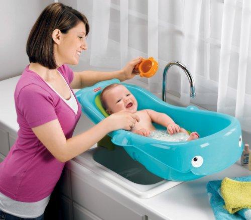 Fisher-Price  鲸鱼造型 宝宝浴盆 24.97加元,原价 34.95加元