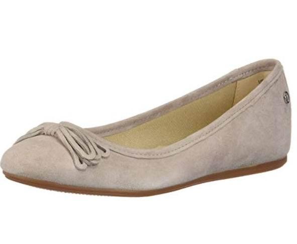 Hush Puppies Heather Bow女士芭蕾舞鞋 39.52加元(6码),原价 116.99加元,包邮