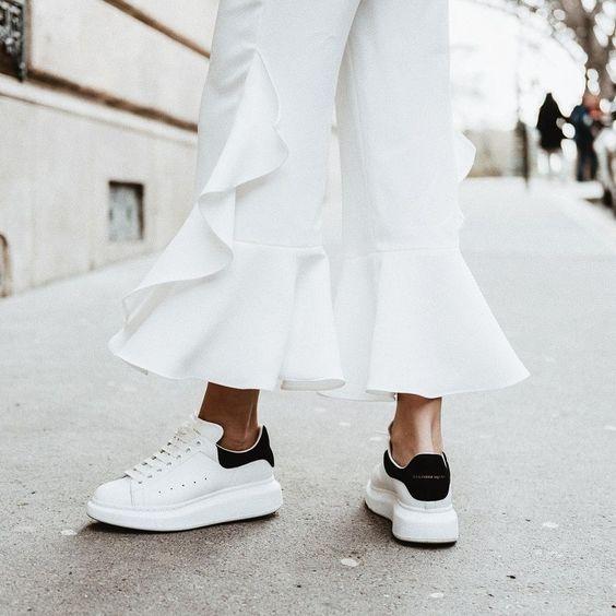 Alexander McQueen 潮人最爱小白鞋 定价优势+额外8.5折,折后低至371.45加元!内有单品推荐!
