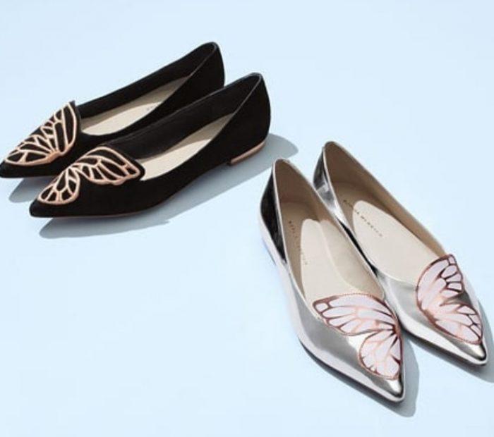精选2款 Sophia Webster经典蝴蝶鞋 320-355加元,原价 445-475加元,包邮