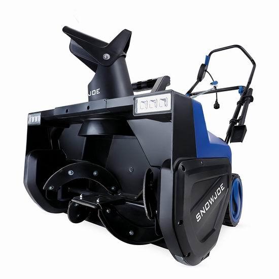 逆季大促!历史新低!Snow Joe SJ627E 15安培22英寸电动铲雪机5.1折 238加元包邮!