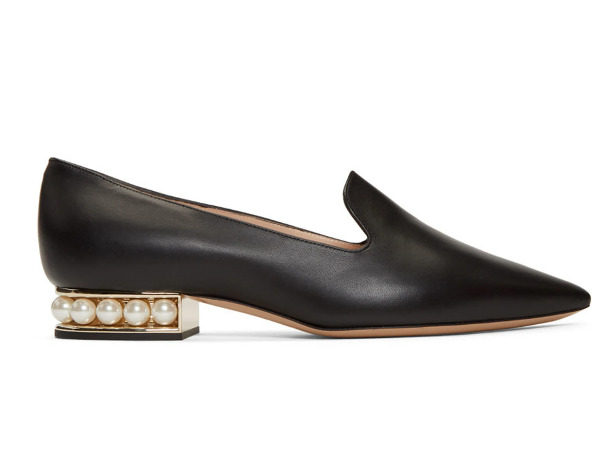 Nicholas Kirkwood Casati 珍珠乐福鞋 700加元,原价 935加元,包邮
