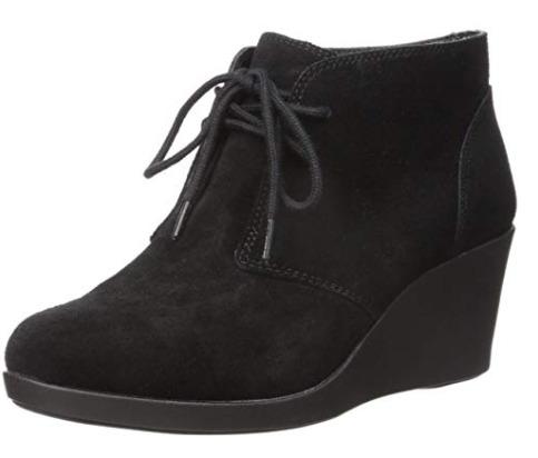 Crocs Leigh女士绒面坡跟鞋 34.71加元(6.5码),原价 103.4加元