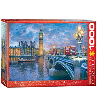 Eurographics 6000-0916 伦敦平安夜拼图1000件 12.34加元,原价 29.99加元