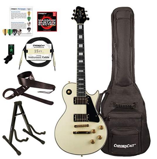 史低价!Sawtooth ST-H68C-ATQWH-KIT-1 Heritage系列枫木顶级电吉他 371.38加元,原价 590. 27加元,包邮