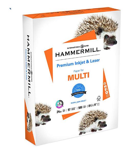 历史新低!Hammermill 复印打印纸500页 4.59加元!