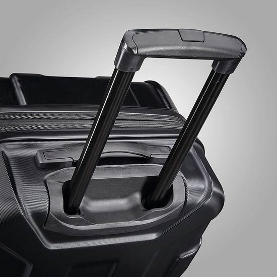 新款 Samsonite 新秀丽 Centric HS 全PC 20+24寸 黑色时尚硬壳拉杆行李箱2件套2.5折 139.43加元包邮!比Prime Day还便宜25.56加元!