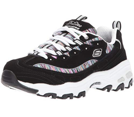 Skechers D'Lites 女士熊猫鞋 49.99加元(码全),原价 83.2加元,包邮