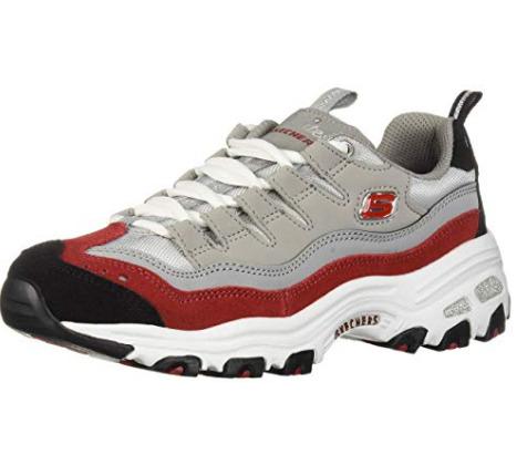 Skechers D'Lites-Sure 女士熊猫鞋 44.59加元(7码),原价 75.25加元,包邮