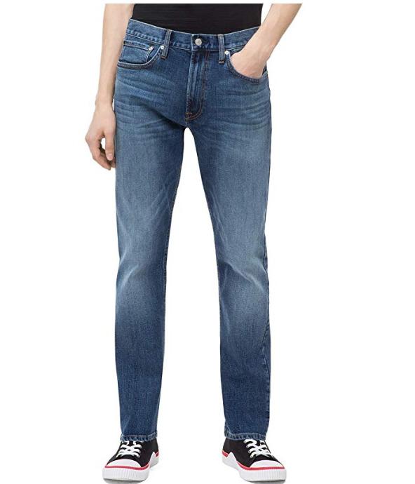 白菜价!Calvin Klein CKJ 056男士牛仔裤 13.23加元(36W×32L),原价 78.19加元