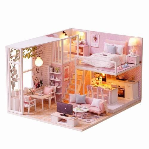 Decdeal DIY 创意迷你娃娃屋 最高立减5加元,折后低至 20.99加元!送礼首选!
