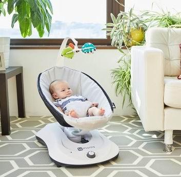4moms婴儿餐具、 游戏床、哄娃神器电动摇摇椅 8折,折后低至 11.96加元!