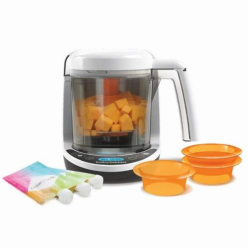 历史新低!Baby Brezza BRZ00141 婴儿全自动蒸煮打泥一体多功能辅食机 5.7折 85加元(149.99加元)