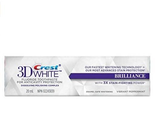 Crest 3D薄荷美白牙膏 20毫升 0.5加元热卖!