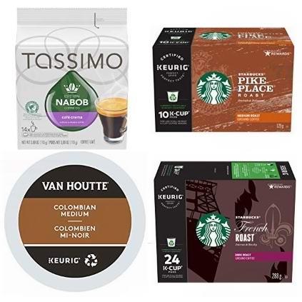 金盒头条:精选 Starbucks、Van Houtte、Tassimo 等品牌咖啡胶囊5.6折起!
