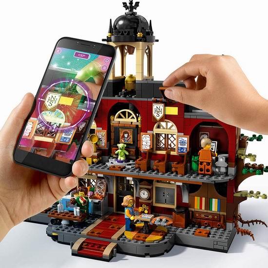 历史新低!八月新品 LEGO 乐高 70425 幽灵秘境系列 隐藏面纽伯里 闹鬼高中(1474pcs)127.99加元包邮!