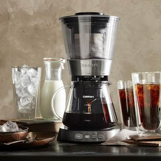 历史新低!Cuisinart DCB-10C 全自动冷萃咖啡机5折 84.99加元包邮!