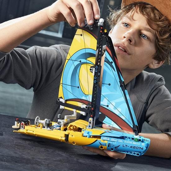 LEGO 乐高 42074 机械组 赛艇(330pcs)7.2折 35.99加元+包邮!