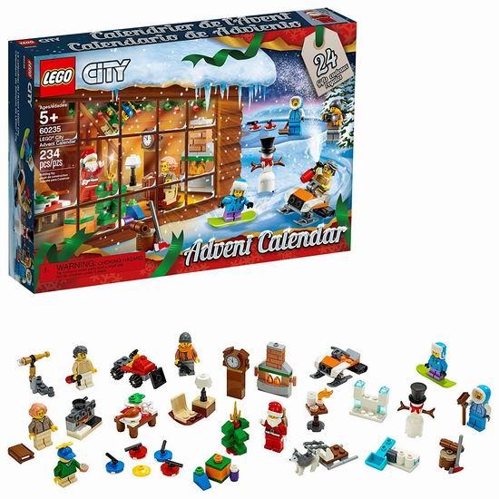 历史新低!新品 LEGO 乐高 60235 城市组 圣诞倒数日历(234pcs) 34.99加元!